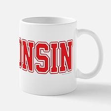 Wisconsin Jersey Red Mug