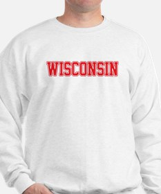 Wisconsin Jersey Red Sweatshirt
