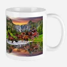 Wells Fargo Stagecoach Mugs