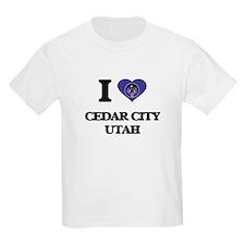 I love Cedar City Utah T-Shirt