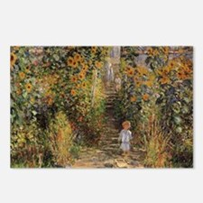 Claude Monet Artists Gard Postcards (Package of 8)
