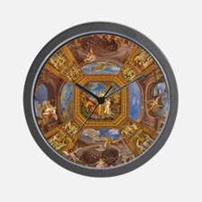 Fresco in the Vatican Museums Wall Clock