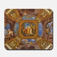 Fresco in the Vatican Museums Mousepad