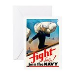 Join the Navy Greeting Card