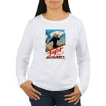 Join the Navy (Front) Women's Long Sleeve T-Shirt