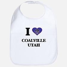 I love Coalville Utah Bib