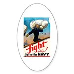 Join the Navy Oval Sticker