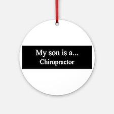 Son - Chiropractor Ornament (Round)