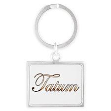 Gold Tatum Keychains