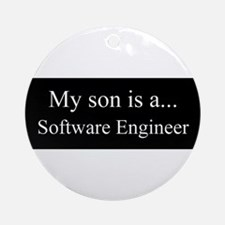Son - Software Engineer Ornament (Round)