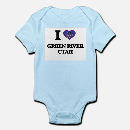 I love Green River Utah Body Suit