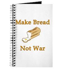 Make Bread Not War Journal