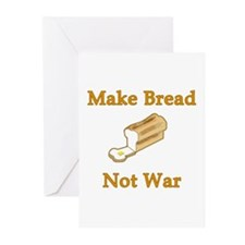 Make Bread Not War Greeting Cards (Pk of 10)