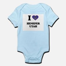 I love Henefer Utah Body Suit