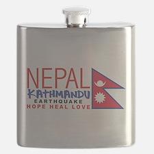 Nepal Earthquake Flask
