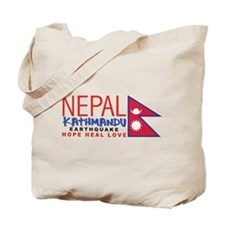 Nepal Earthquake Tote Bag