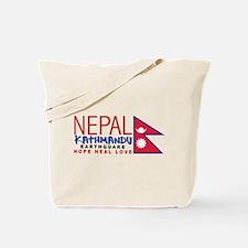 Nepal Earthquake Tote Bag