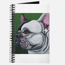 Pied French Bulldog Journal