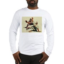 Vintage Sports Baseball Long Sleeve T-Shirt