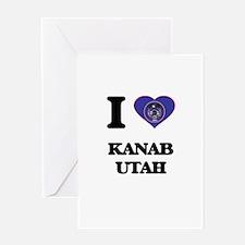 I love Kanab Utah Greeting Cards