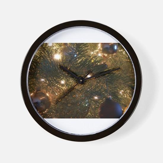 Perfect Christmas ornaments Wall Clock