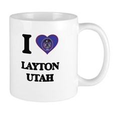 I love Layton Utah Mugs