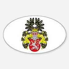 Bohemia Coat of Arms Oval Decal