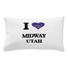 I love Midway Utah Pillow Case