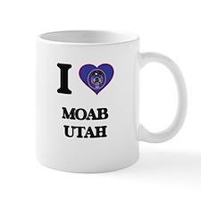 I love Moab Utah Mugs