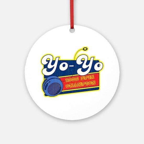 Yo-Yo Ornament (Round)
