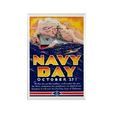 Navy Day for Sailors Rectangle Magnet
