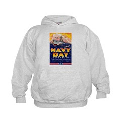 Navy Day for Sailors (Front) Hoodie