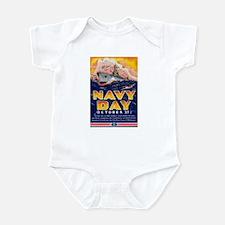 Navy Day for Sailors Infant Bodysuit
