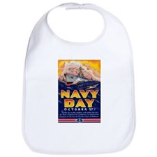 Navy Day for Sailors Bib
