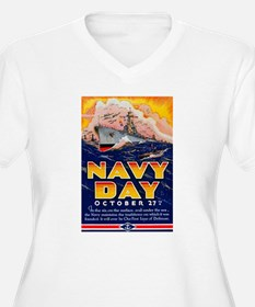 Navy Day for Sailors (Front) T-Shirt
