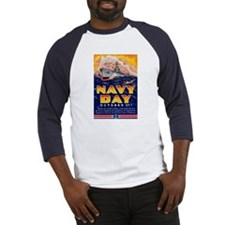 Navy Day for Sailors (Front) Baseball Jersey