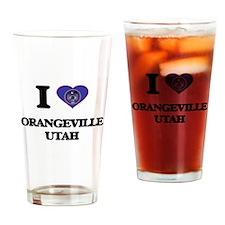 I love Orangeville Utah Drinking Glass