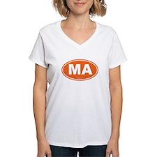 Massachusetts Euro Oval Gre Shirt