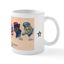 PIT BULL - WWI Propaganda Small Mugs