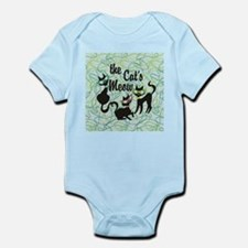 The Cat's Meow Teal Body Suit