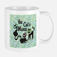 The Cat's Meow Teal Mugs