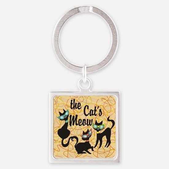 The Cat's Meow Orange Keychains