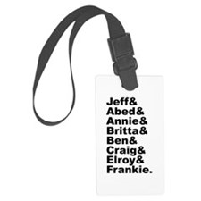 Community List Luggage Tag