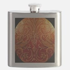 Bears and Flowers Flask