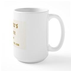 Leo Bruno's College Inn Large Mug