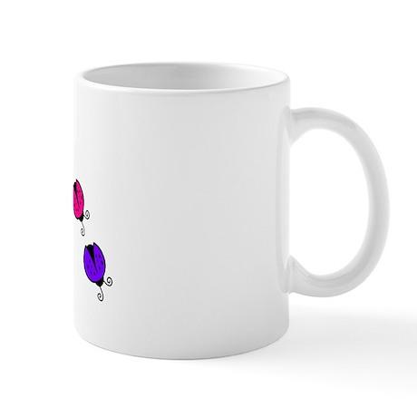 Ladybug Rainbow Mug