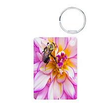 """""""Bee"""" Mine Dahlia Keychains"""