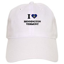I love Bennington Vermont Baseball Baseball Cap