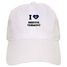 I love Bristol Vermont Baseball Cap