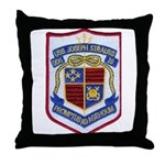 USS JOSEPH STRAUSS Throw Pillow